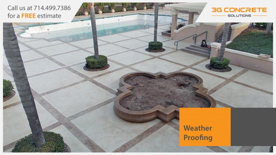 Weather Proofing Concrete in Orange County