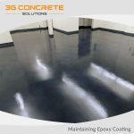 Maintaining Your Epoxy Coated Floor
