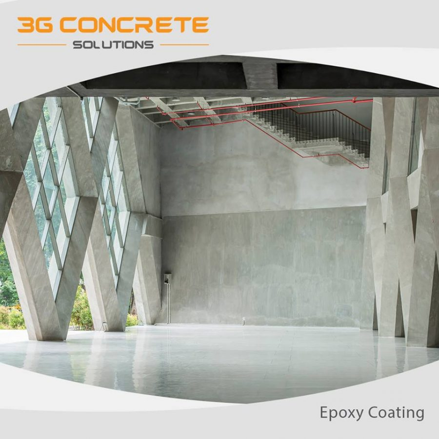 3G Concrete Solutions Epoxy Process
