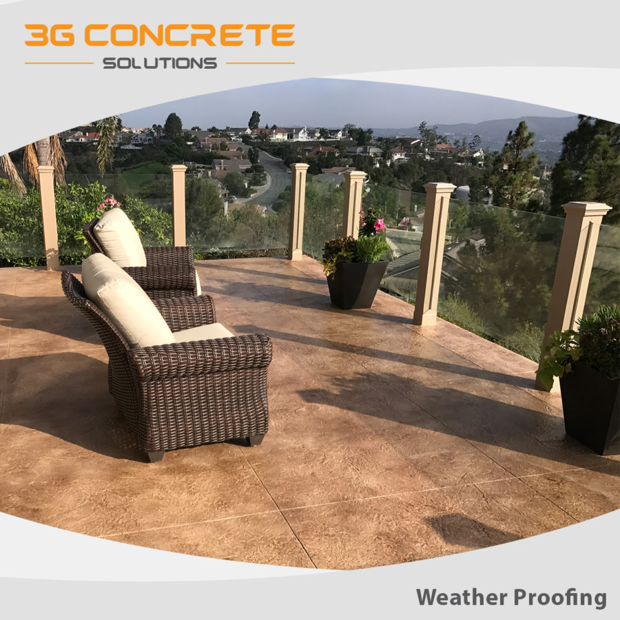 3G FB Weather Proofing Balcony