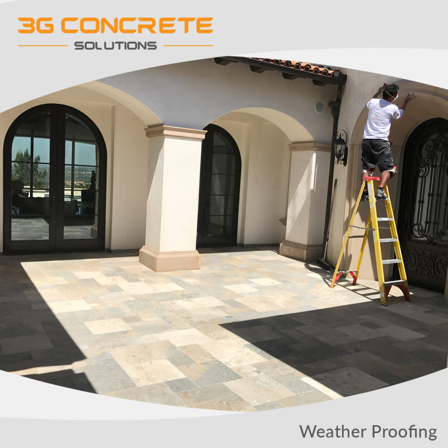 3G Weather Proofing Patio