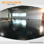 What are the problems in colored concrete flooring and how to solve them?