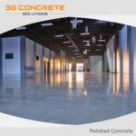 Low Maintenance Polished Concrete Flooring