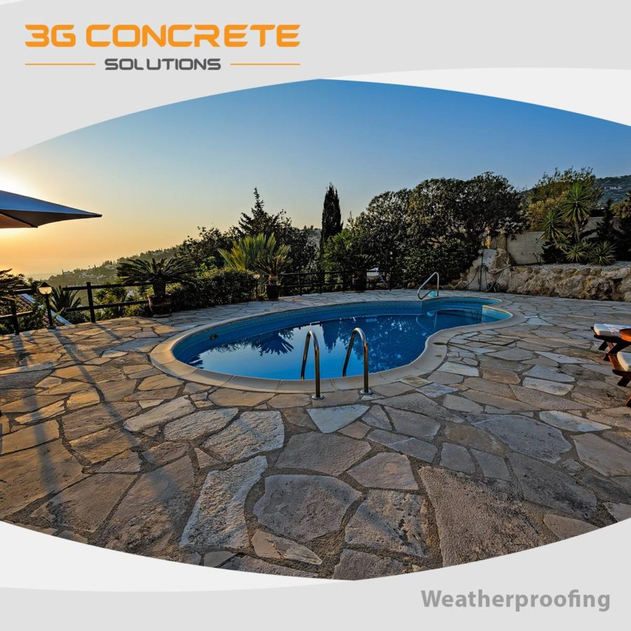 3G Concrete Weatherproofing for the Winter